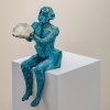 Gary Betts: Blue Figure with Orb