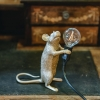 Gold Mouse Table Lamp