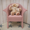 Lloyd Loom Classic Child's Armchair in Pink