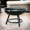 70cm Classic Firepit with Additional Extra Rack