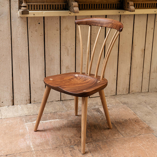 Thetford Chair in Walnut and Ash