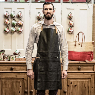 Leather Apron – Black