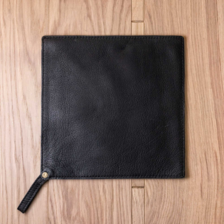 Leather Pot  Holder – Black