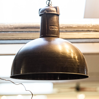 Soll Copper Hanging Lamp on Chain (chain and ceiling rose included)