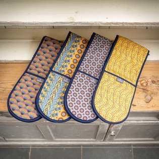 Cressida Bell for Burford Double Oven Gloves
