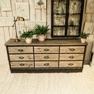 Woodcroft Nine Drawer Chest
