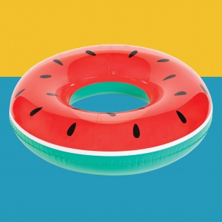 Inflatable Pool Ring - Watermelon
