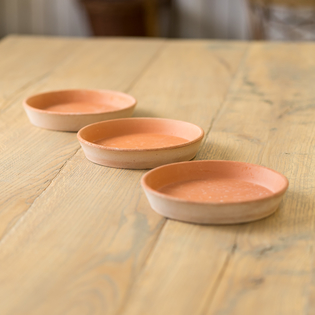 Rosa Helena Saucers - Set of 3
