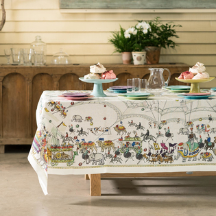 Circus Tablecloth