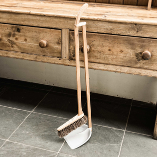Long-Handled Dustpan & Brush Set