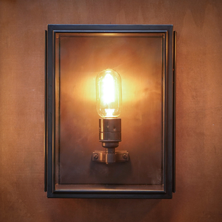 Ash Wall Light Bronze Small
