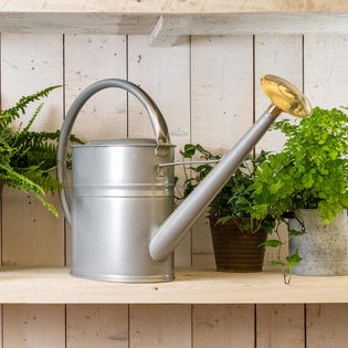 Haws Slim Watering Can 8L Titanium