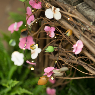 Outdoor LED Lights - Flowers