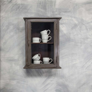 Amiri Wall Hung Cabinet Aged Grey