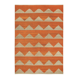 Arctic Brick Orange Rug