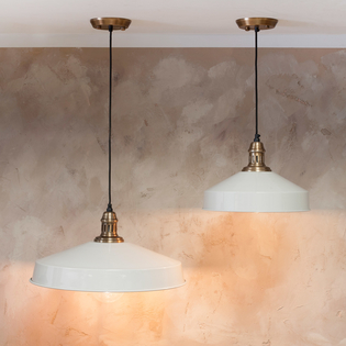 Madu Pendant Lights Off White
