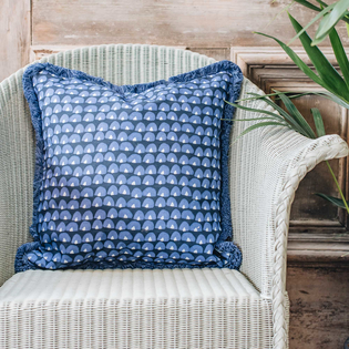 Tom Indigo Cushion