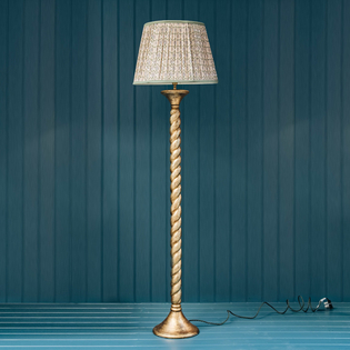 Pooky Solomon Floor Lamp Antique Gold