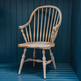 High-back Windsor Chair
