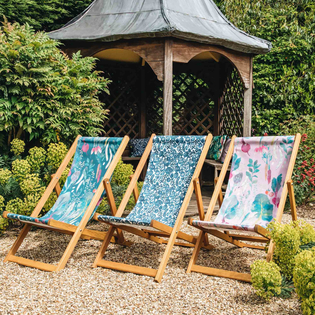 Bluebellgray for Burford Deck Chair