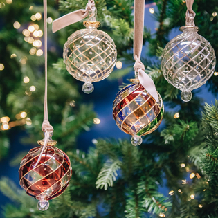 Mistral Glass Baubles 8cm
