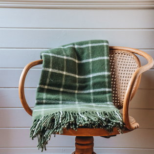 Burford Chequered Throw