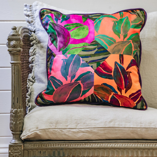 Eleni Malami Evadne Cushion Multi Square