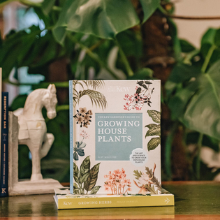 The Kew Gardener's Guide to House Plants, (horse bookend available in store)