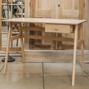 Ercol Oak Ballatta Desk