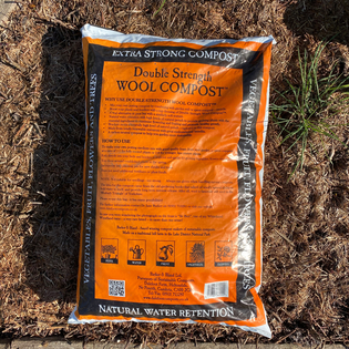Peat Free Wool Compost - Double Strength - 30 L