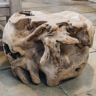 Teak Ball Root Coffee Table