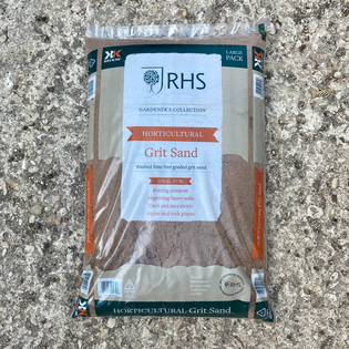 RHS Potting Grit Sand - Washed and Lime Free - Big Bag