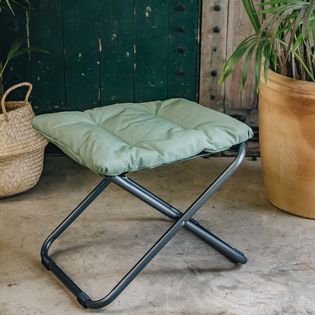 Sage Green Chico Soft Padded Stool