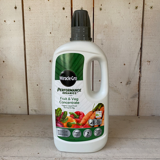 Performance Organics Fruit and Veg Liquid Feed - Concentrate- 1L