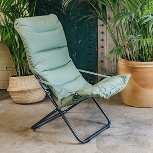 Sage Green Fiesta Soft Padded Relaxer Chair