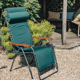 Dark Green Movida XL Soft Padded Relaxer Armchair