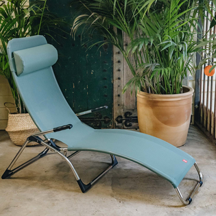 Sage Green Samba Rocker Lounger Sun Chair