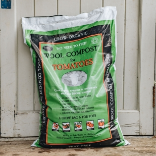 Peat Free Wool Compost for Tomatoes - 30 L