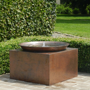 Perugia Copper Water Feature