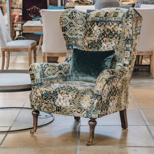 Crawford Armchair Rio Olive