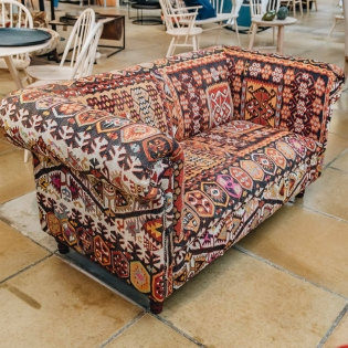 Kilim Chesterfield Sofa