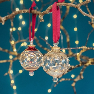 Carousel Glass Baubles
