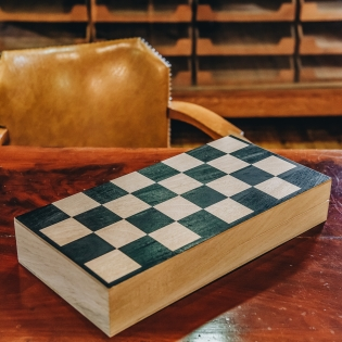 Mangowood Chess and Draughts Board