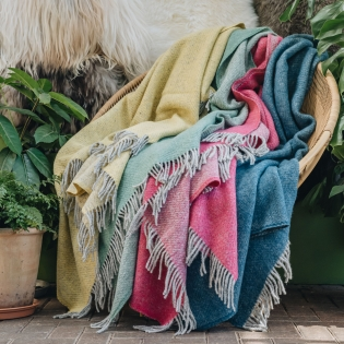 Boa Wool Throws at Burford