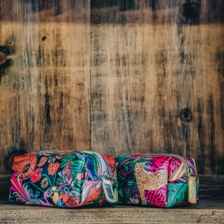 Assorted hand-Bag Make Up Bags from Burford