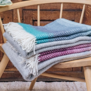 Burford Ombre Throw Calypso