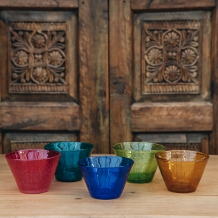 Coloured Small Glass Bowls