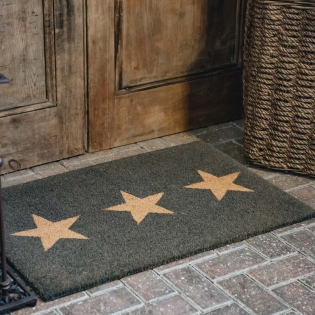 Triple Star Large Doormat