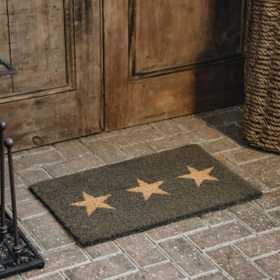 Triple Star Small Doormat