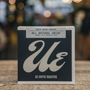 All Natural Decaf Coffee - UE Coffee Roasters